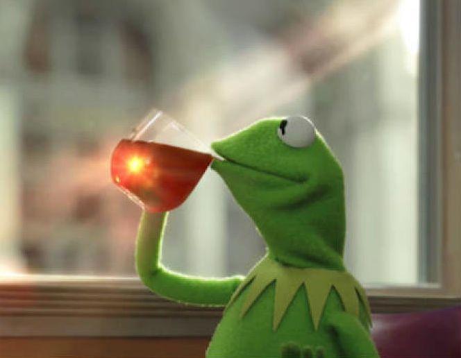 Image But That's None of My Business Kermit la grenouille template meme